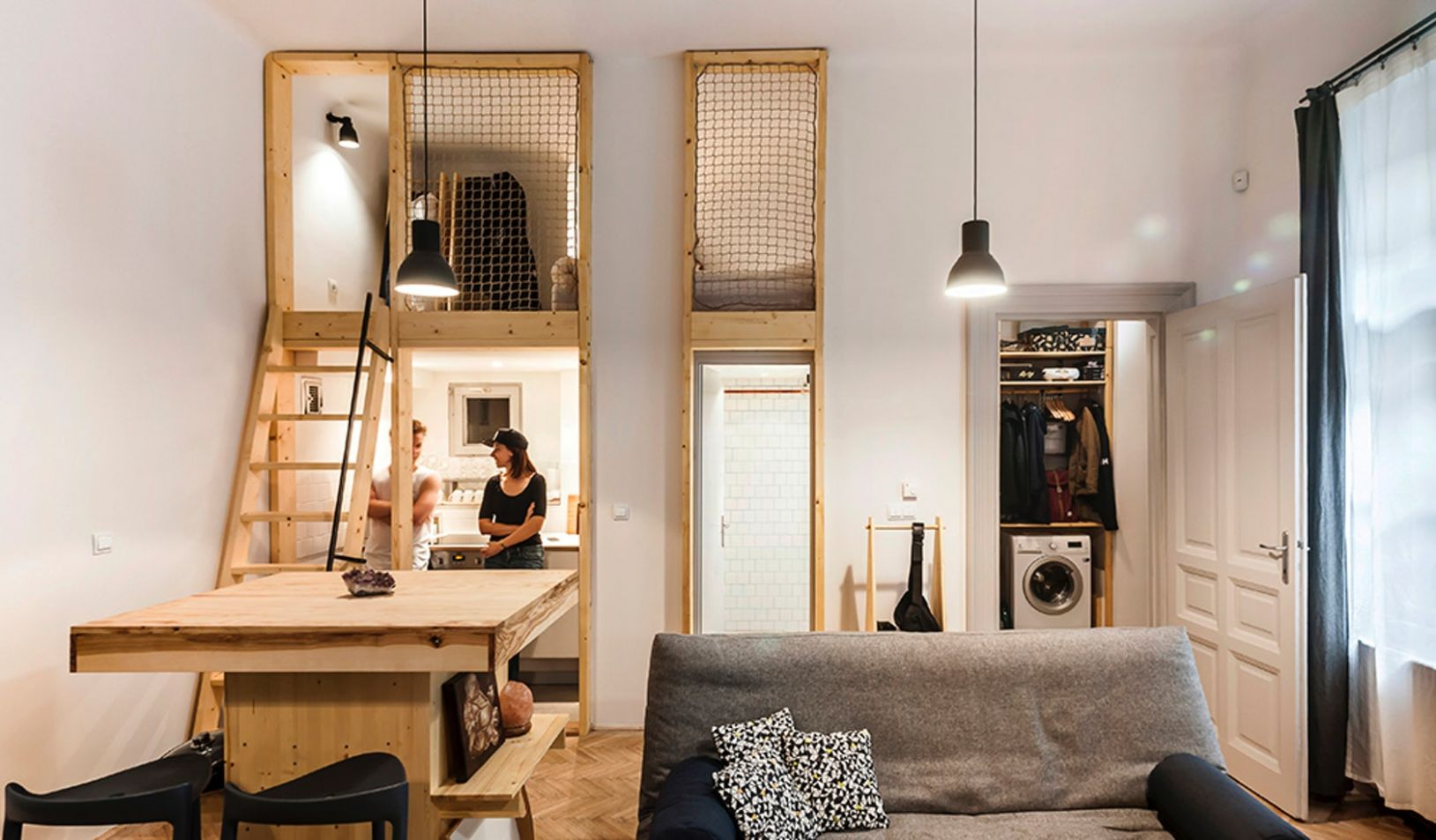 Architectural Drawings: 8 Clever Plans for Tiny Apartments ..