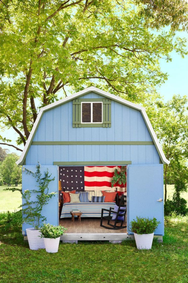 Astonishing Backyard Escape Ideas | Shed makeover, Backyard ...
