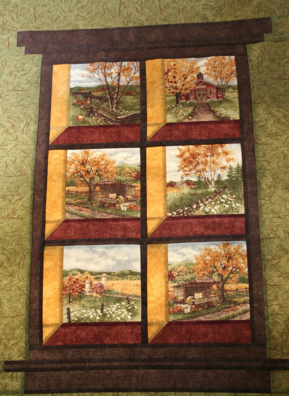 Attic Window Quilts - Easy Craft Ideas - window quilt ideas