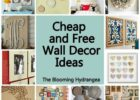 Awesome Inexpensive Wall Decor - Really Inspiring Design