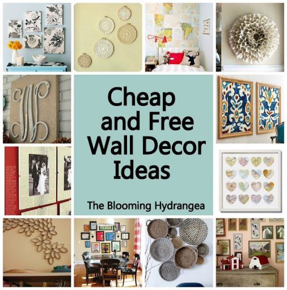 Awesome Inexpensive Wall Decor - Really Inspiring Design - wall decoration ideas on a budget