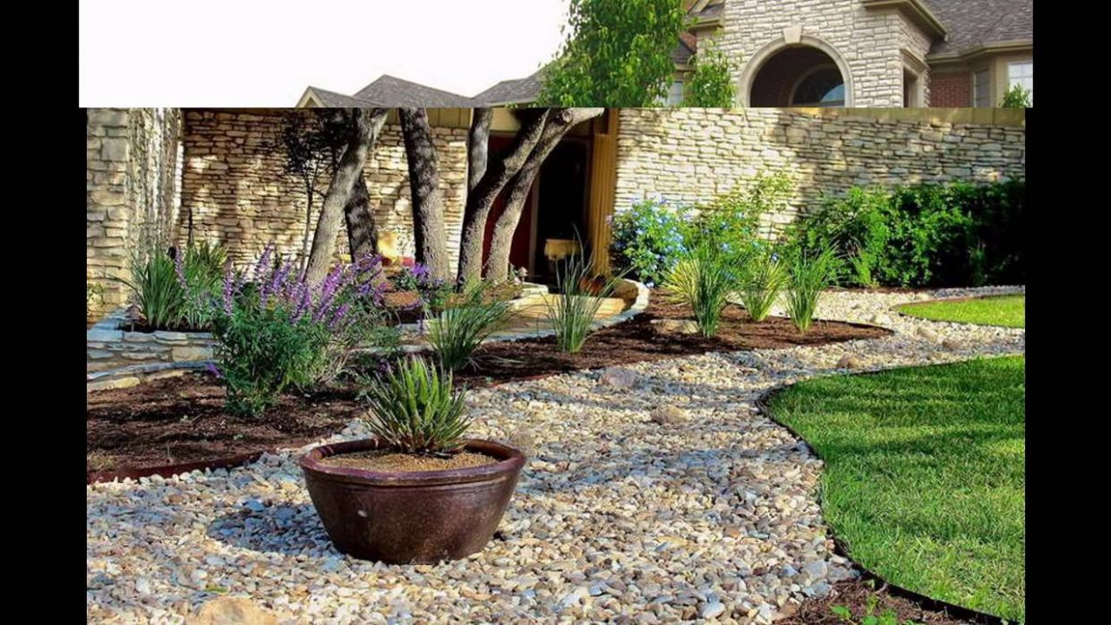 Awesome Stone landscaping ideas - YouTube - backyard ideas stone