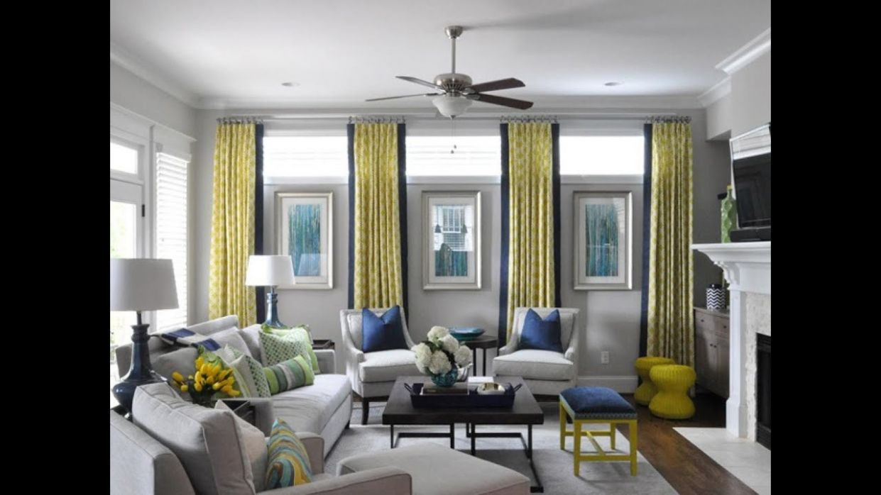 Awesome Window Treatment Ideas for Living Room - YouTube