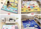 Baby Blanket Carpet Floor Mat Baby Play Mat Eco-friendly 12% Cotton Mat  Children Mats