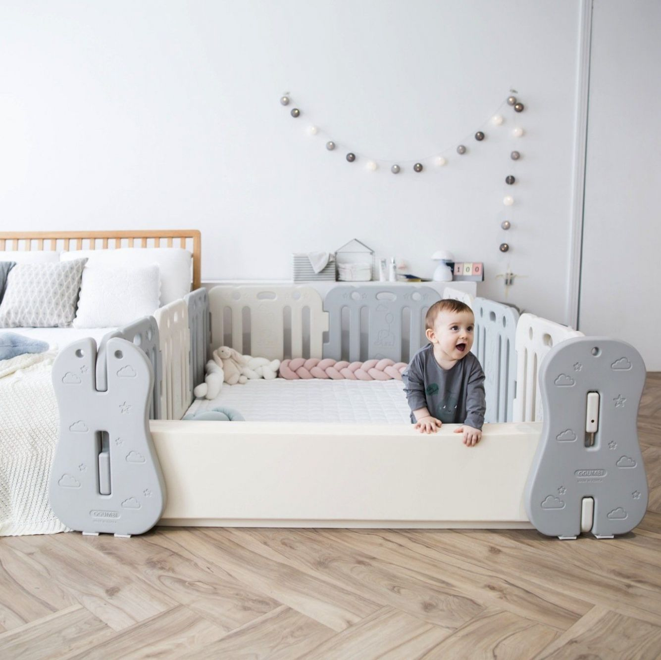 Baby Room Set - Family Guard (inclusive of premium Play mat!) - baby room mat