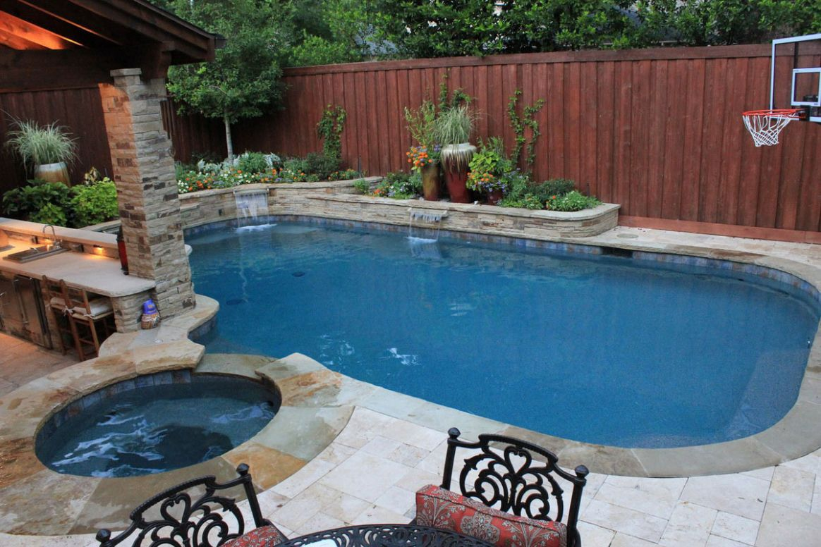 Backyard Pool Design with Mesmerizing Effect for Your Home - Traba ...