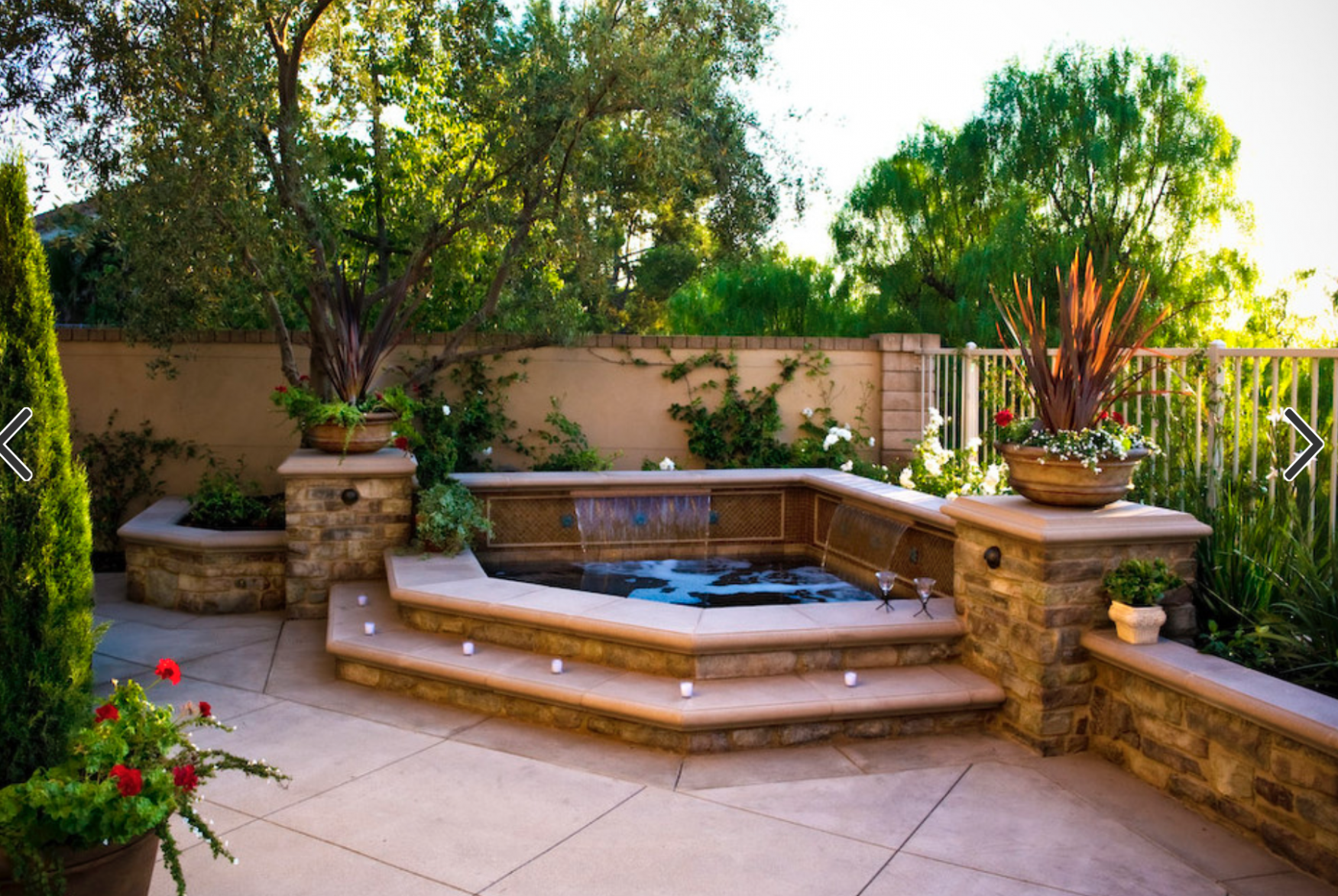 Backyard 'spool' hot tub/pool for downward slope in backyard ...