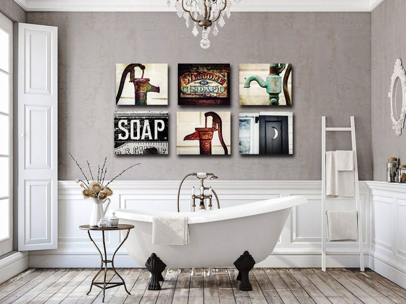 Bathroom Wall Decor Sets Etsy Ideas 12 Funny Pictures For Art ...