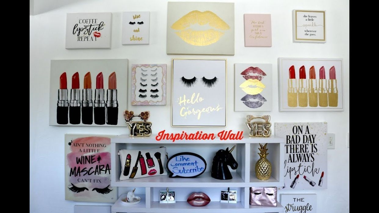 """BEAUTY ROOM """"INSPIRATION WALL"""" ART 
