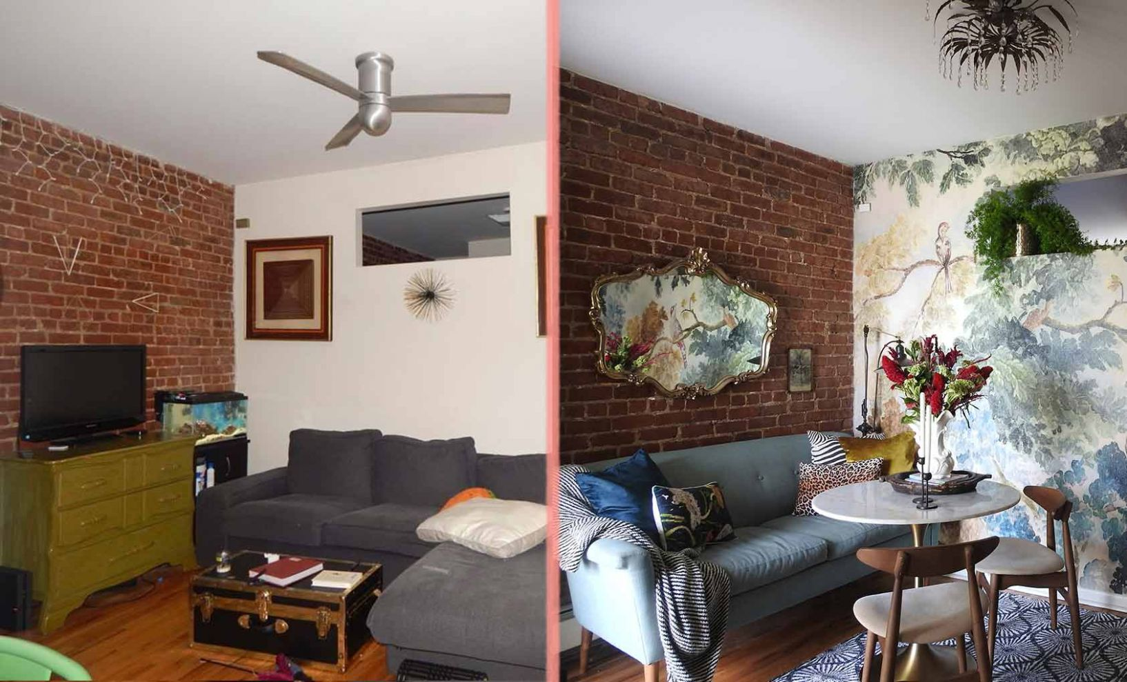 Before & After: A Thrifter's Brooklyn Apartment – Design*Sponge