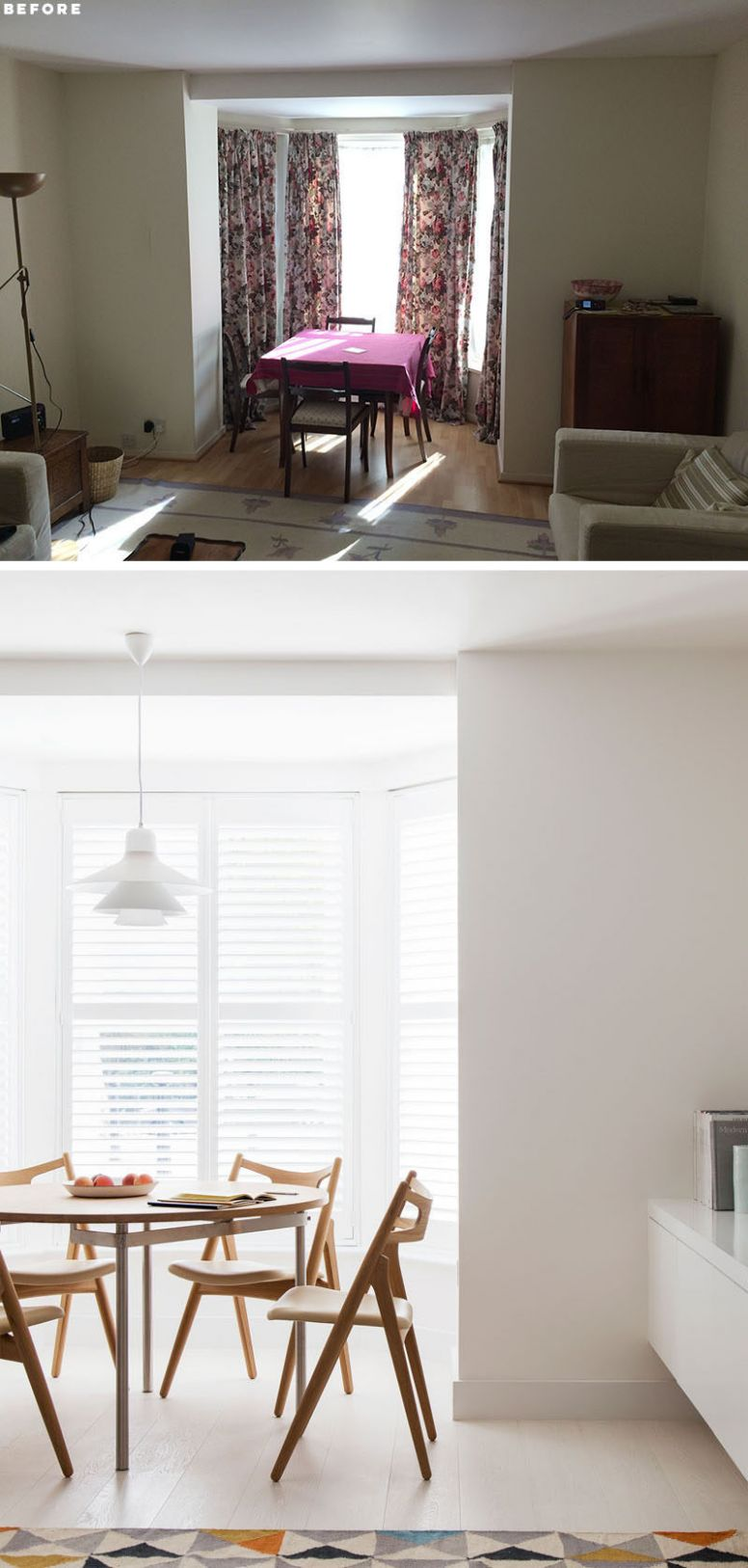 Before And After - This Small Apartment In London Was Redesigned ...