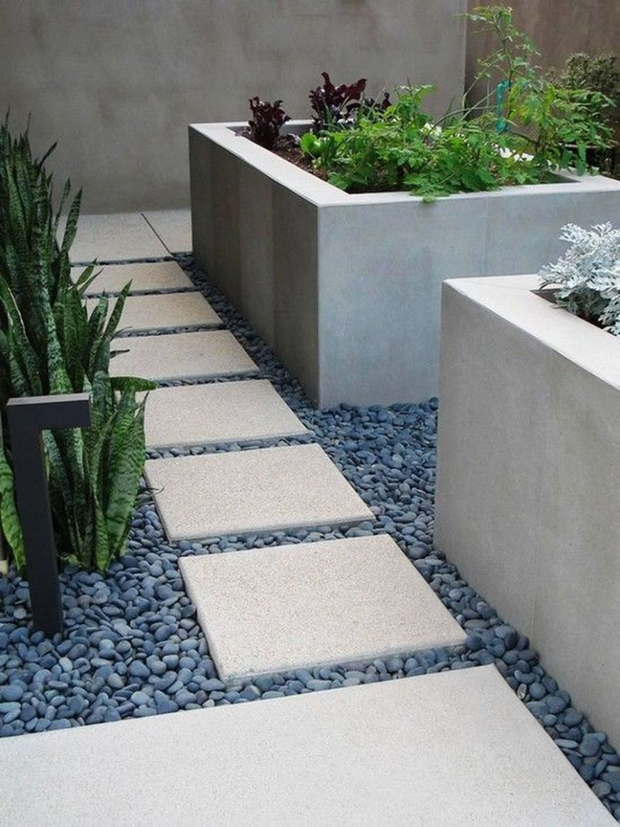 Best 10+ Awesome Modern Front Yard Gardening Ideas | Large ..
