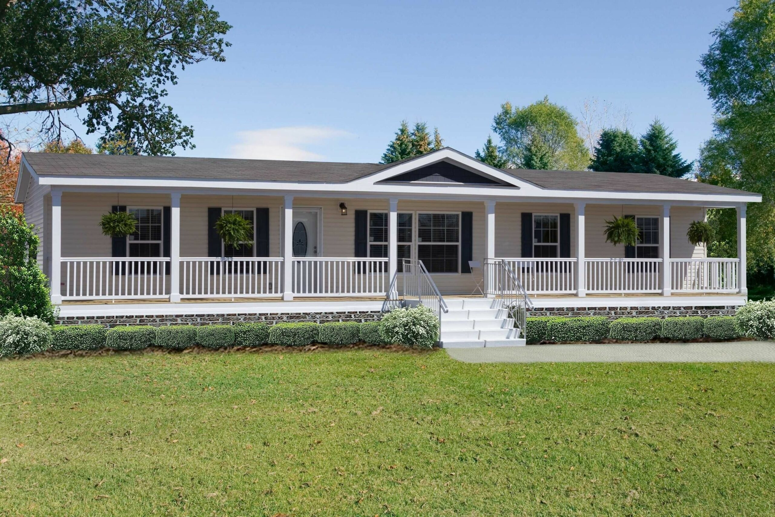 Best of Front Porch Designs For Double Wide Mobile Homes BW12i12 ...