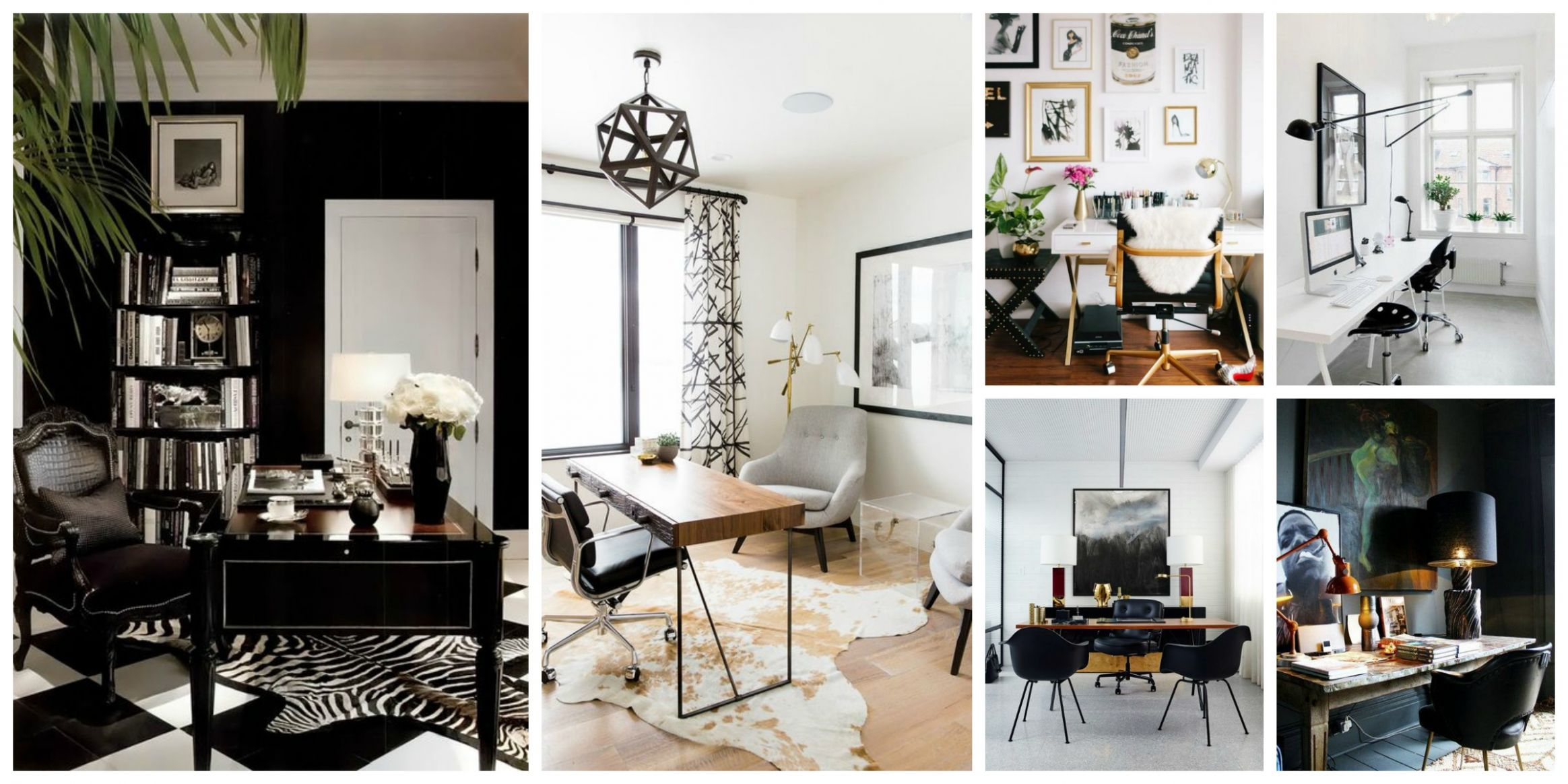 Bloggers' Office Decor: Glam White VERSUS Mysterious Dark? – The ...