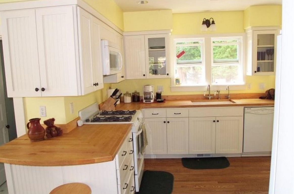 Blue and Yellow Kitchen Painting Ideas — Modern Design