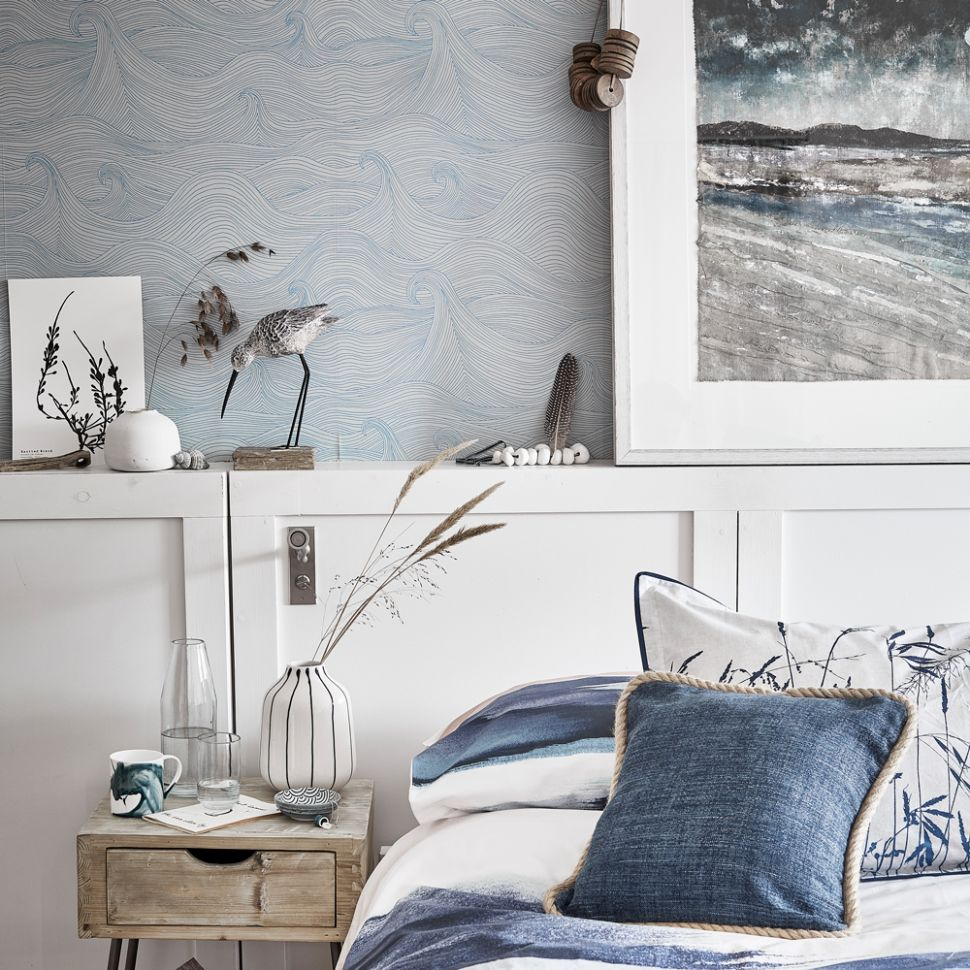 Blue bedroom ideas – see how shades from teal to navy can create a ...