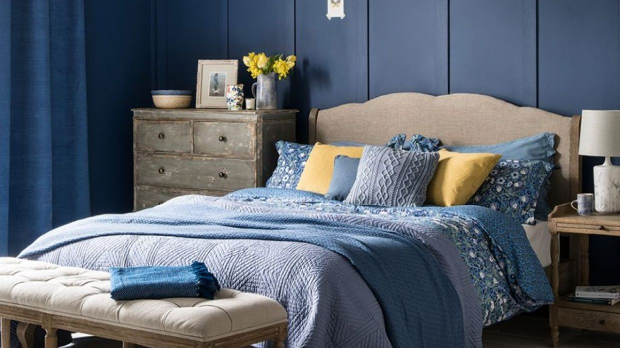 Blue Bedroom Ideas - Shades From Teal to Navy