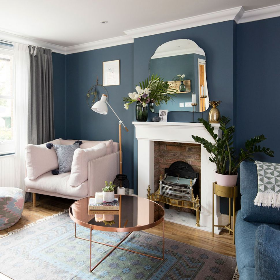 Blue living room ideas – from midnight to duck egg, see how ...