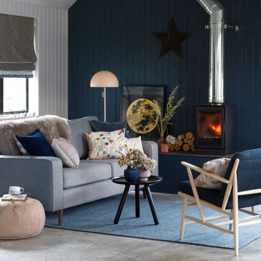 Blue living room ideas – from midnight to duck egg, see how ..