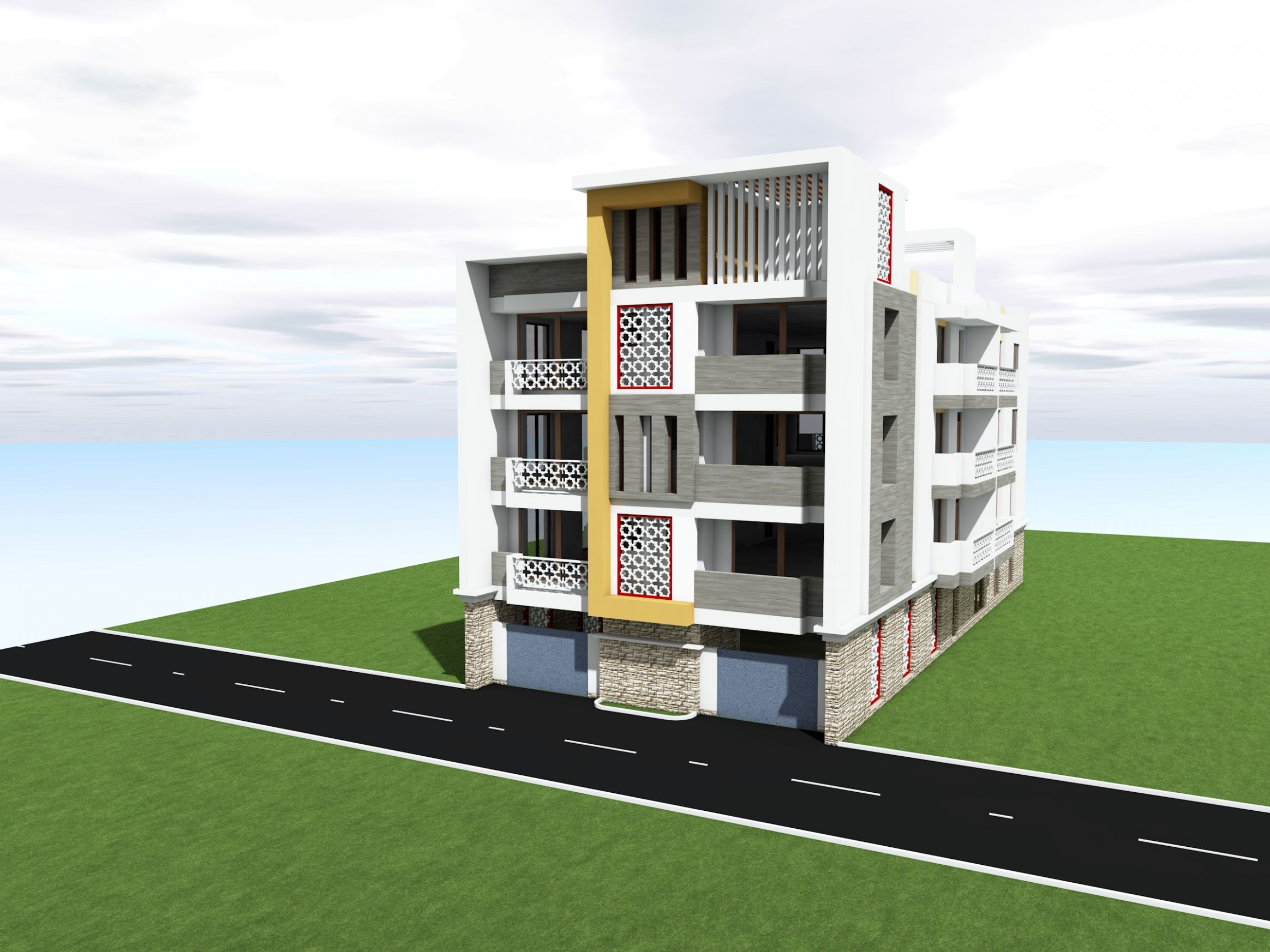 BM APARTMENTS IN LAKEVIEW PHASE 8 BAMBURI - BS CONSULTANTS - apartment design kenya