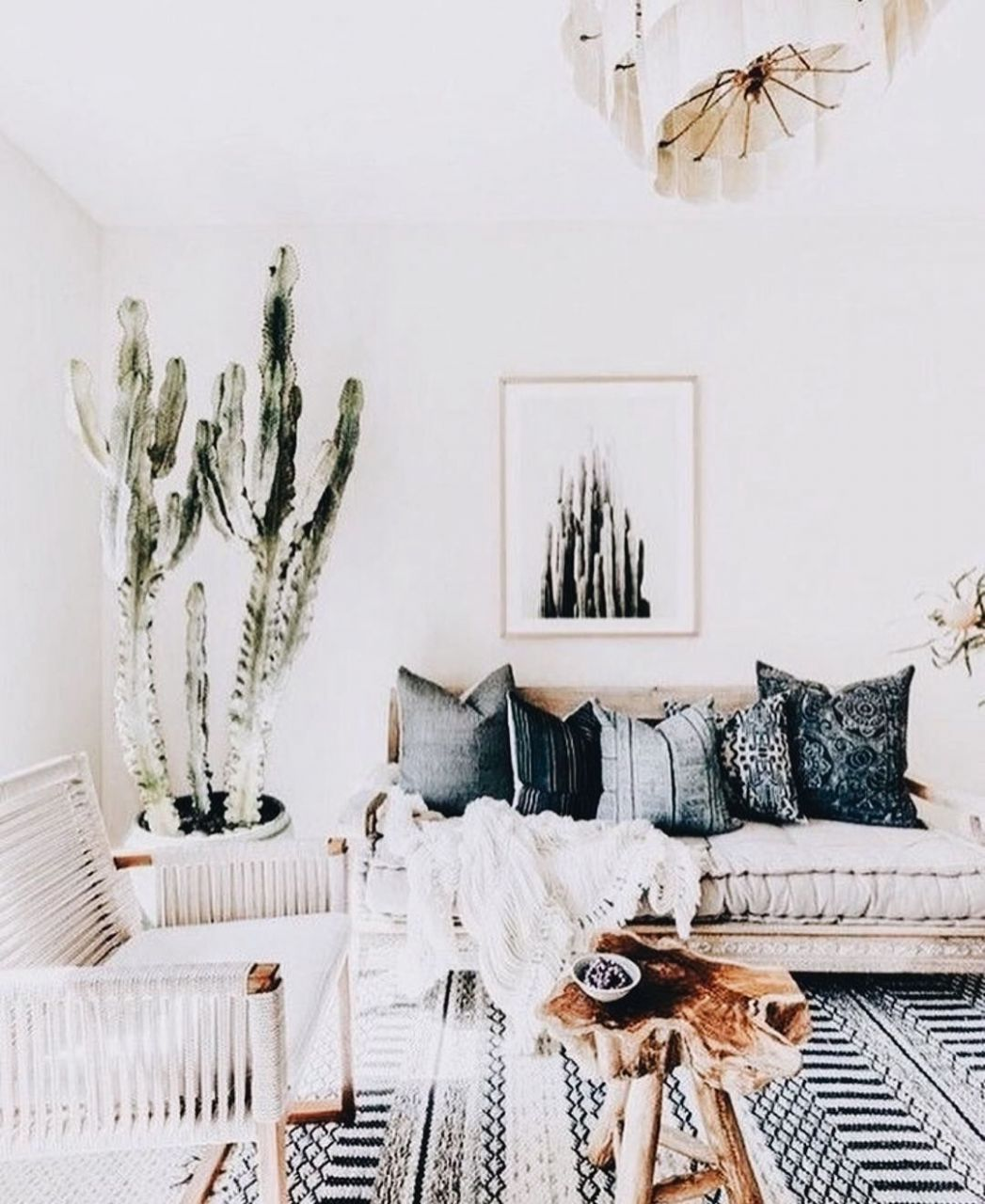 Boho Chic Style Living Room Modern Bohemian Home Decor | Modern ...