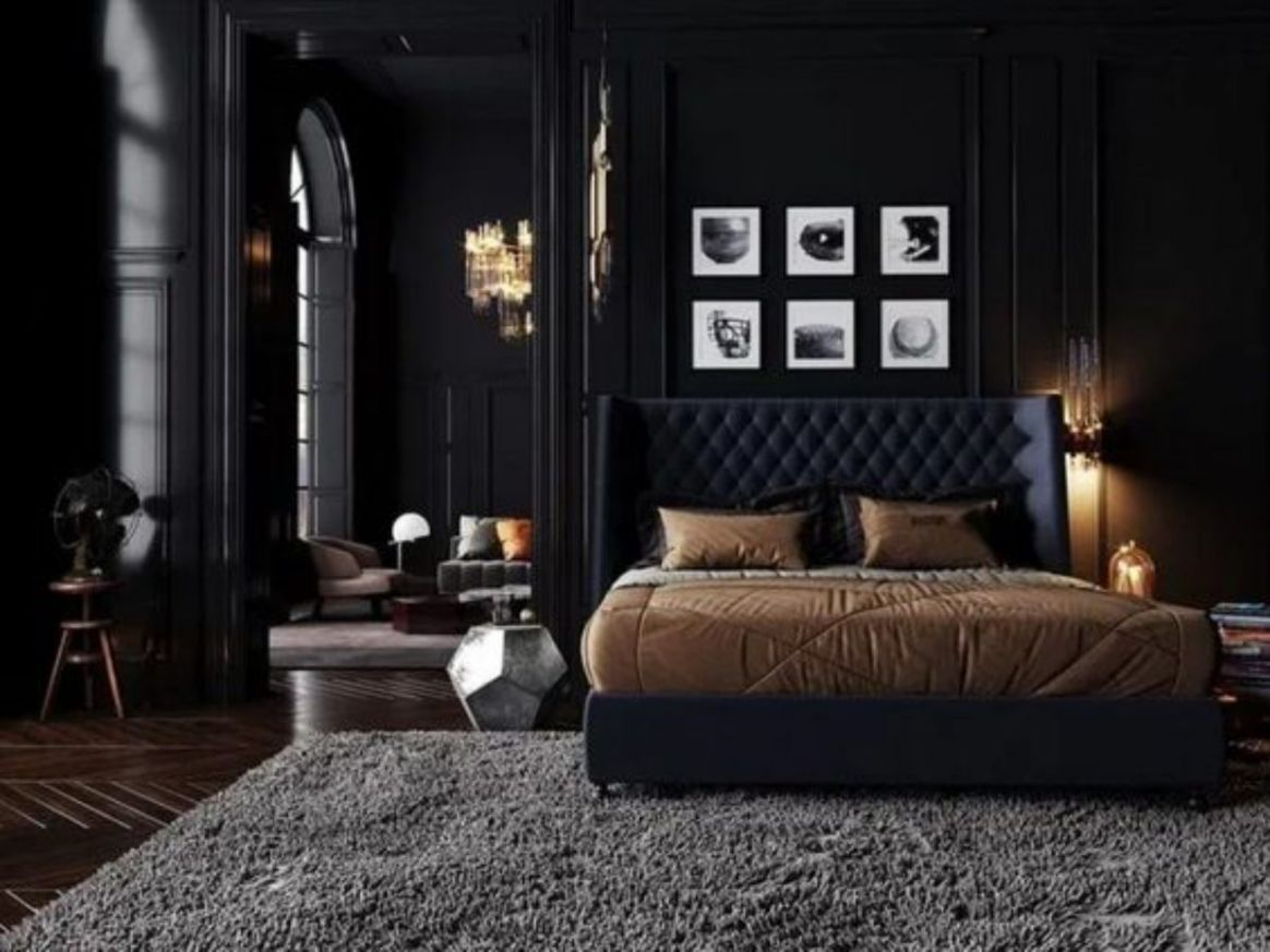 Bold Dark Bedroom Ideas You Might Want to Try | DecorTrendy - bedroom ideas dark