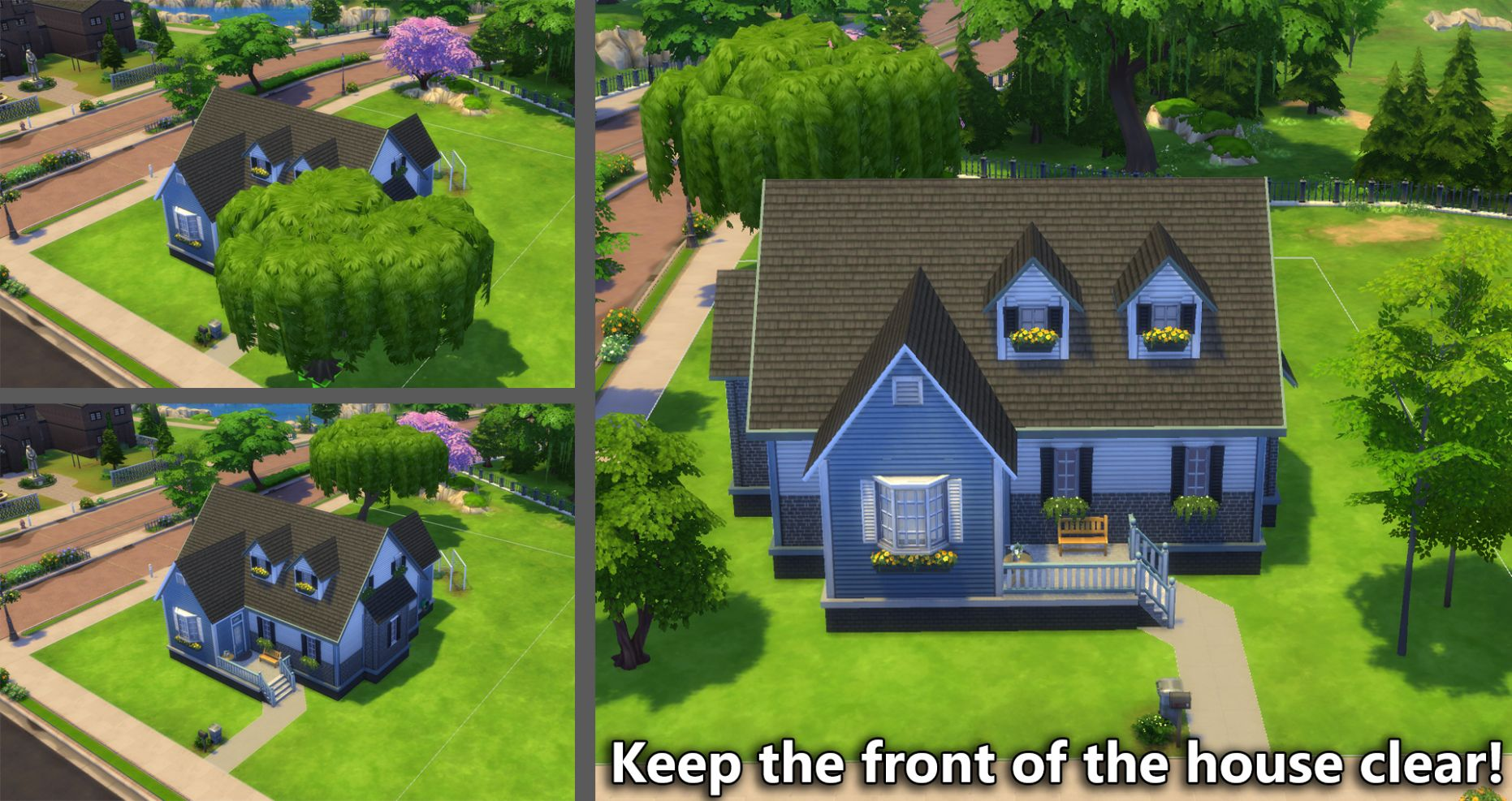Building for Beginners in The Sims 12 (Landscaping)