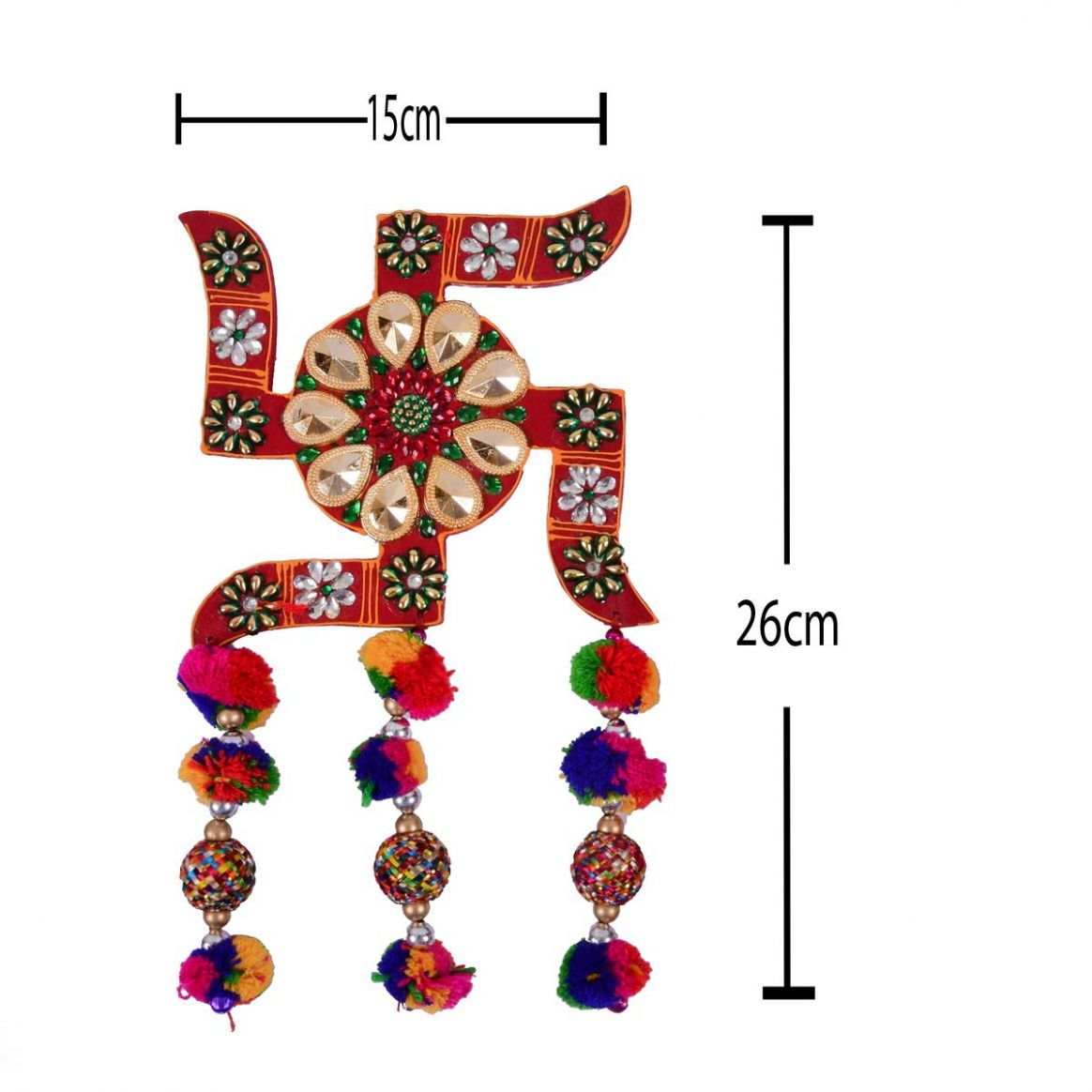 Buy Jaipur Ace Swastik for Wall Home Decor Pair of 9 Online at Low ..