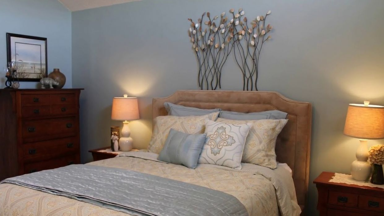 Calm and Relaxing Bedroom Decorating Ideas - YouTube