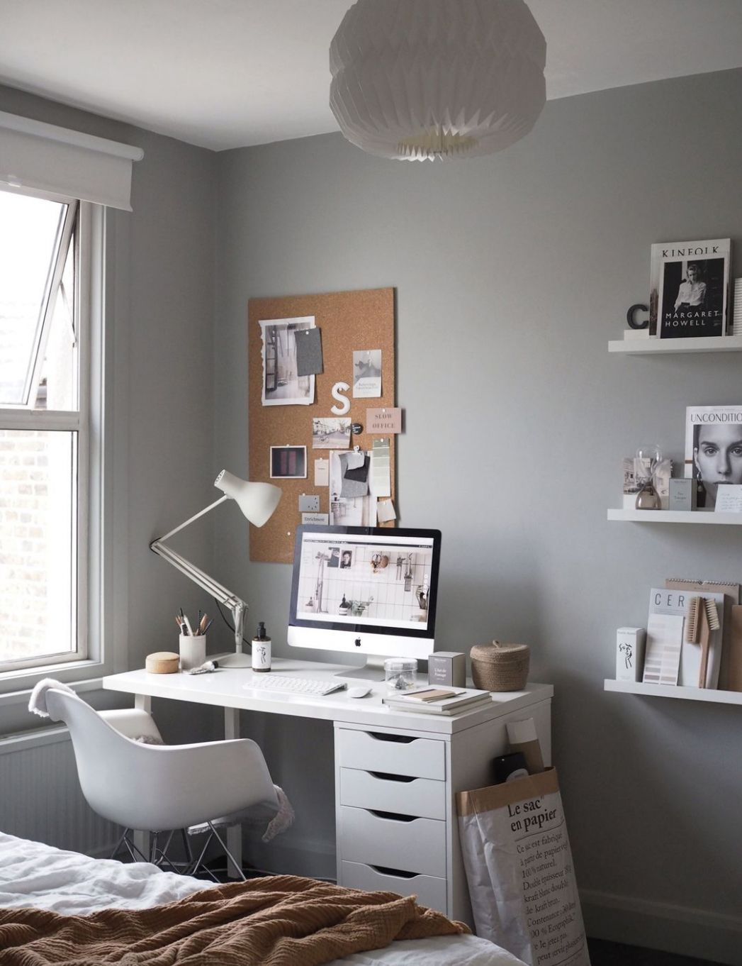 Cate St Hill's Beautiful Home Office with an Inspiring yet ...