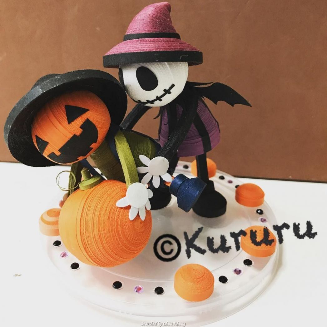 chouchou_satomin- Quilled Haloween (Searched by Châu Khang ..