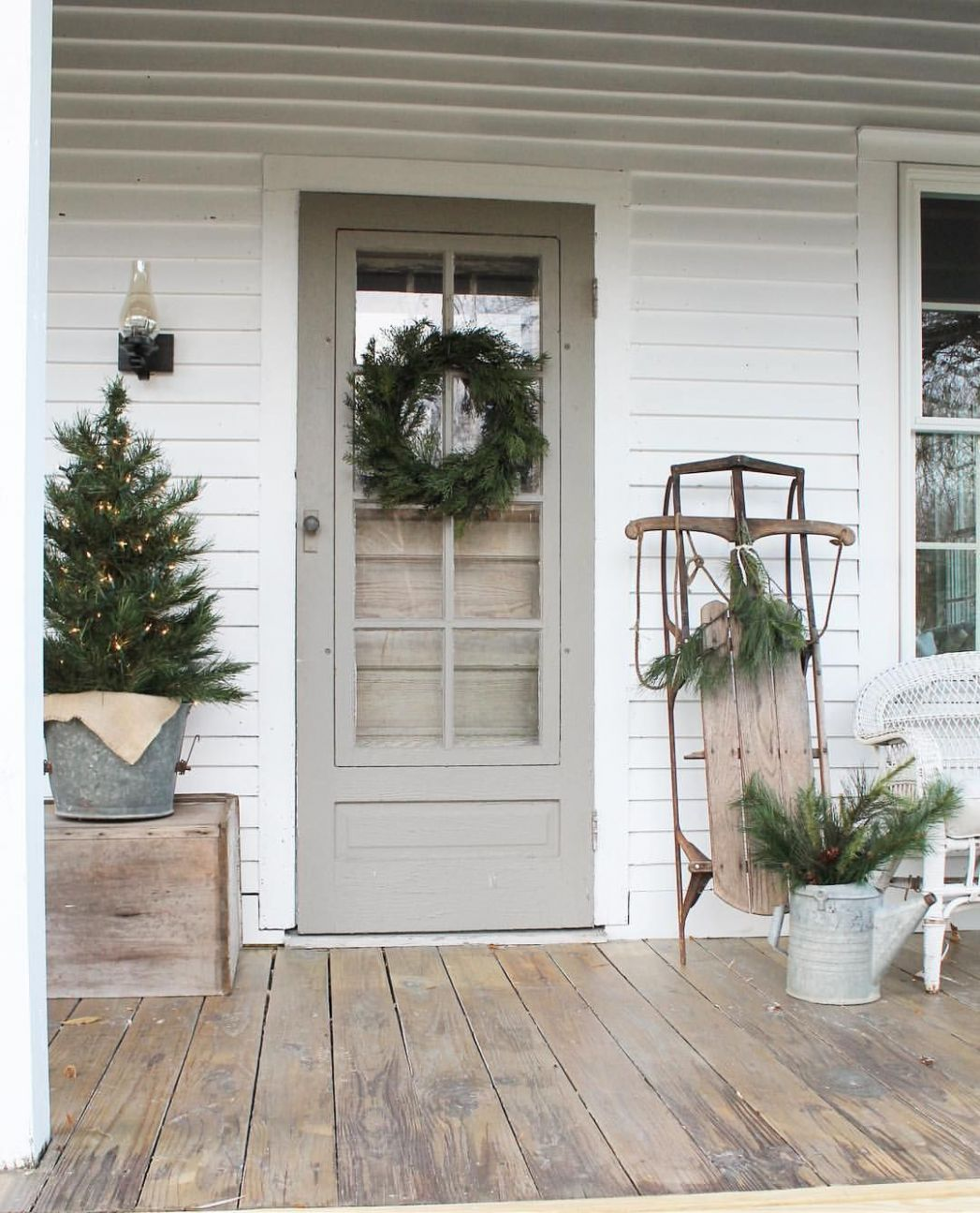 Christmas porch decor image by Christy Whitehead-Snyder on ..