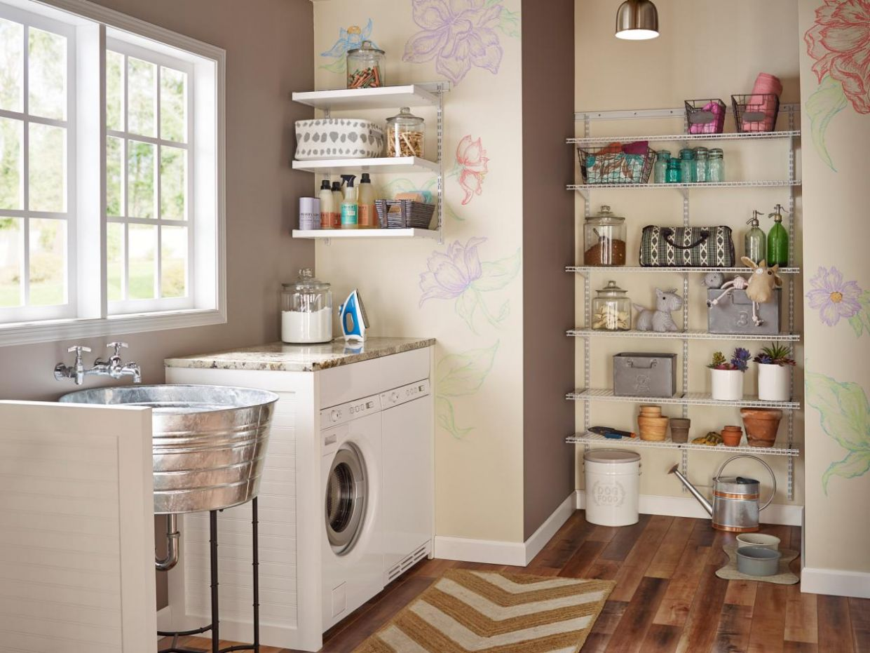 Clever Storage Ideas For Your Tiny Laundry Room Bedroom Decorating ..