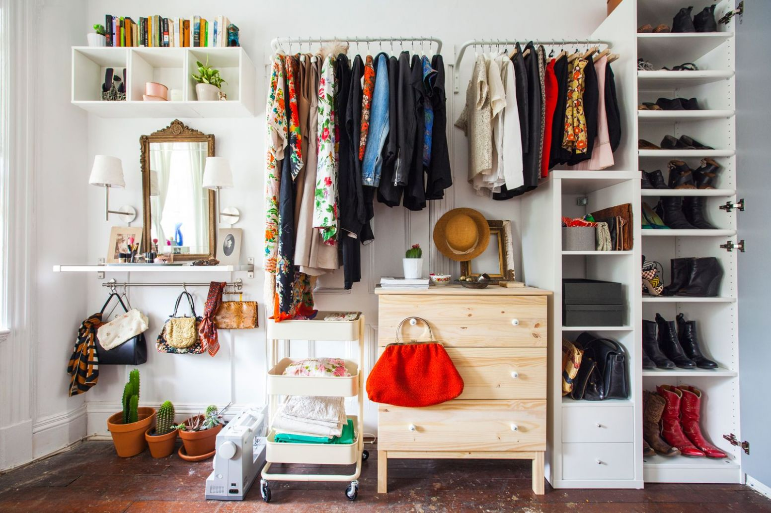 Closet Organization Ideas Clothing Storage Solutions Ikea Room ...