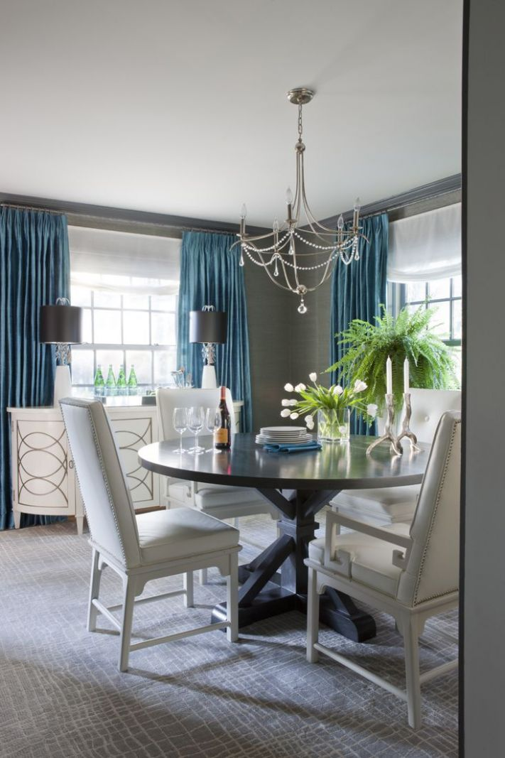 color combo for master bedroom gray & teal dining room | Roxanne ..