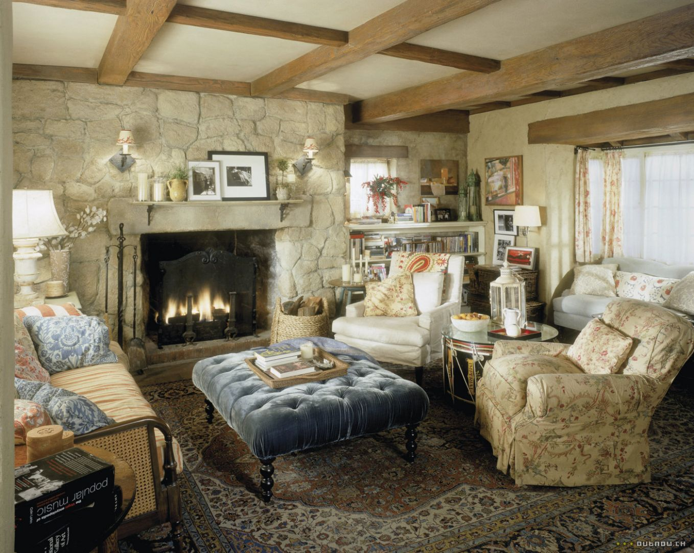 could these chairs work together? (PICS) (fireplace, Ralph Lauren ...