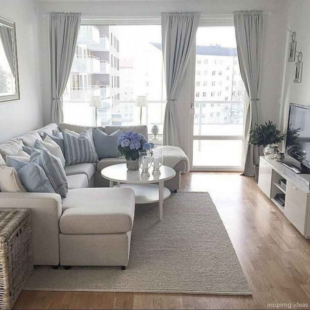 Cozy modern apartment living room decorating ideas on a budget 9 ..