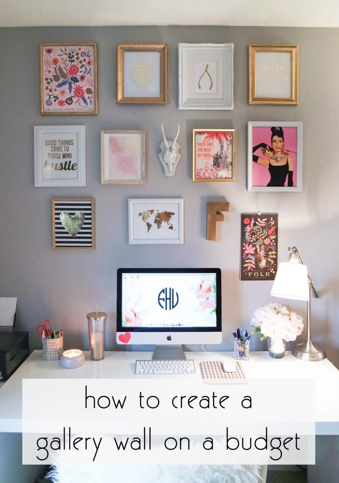 creating a gallery wall on a budget | Dorm room diy, Apartment ..