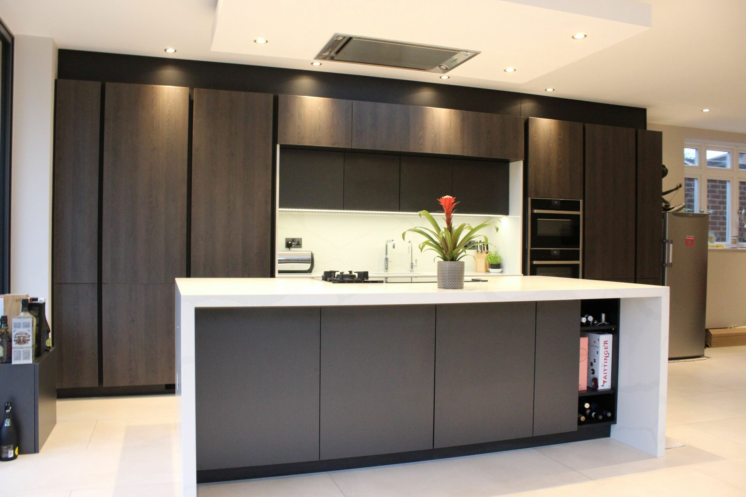 Dark Kitchen Ideas Ealing Kitchen #Kitchen #KitchenDesign ...