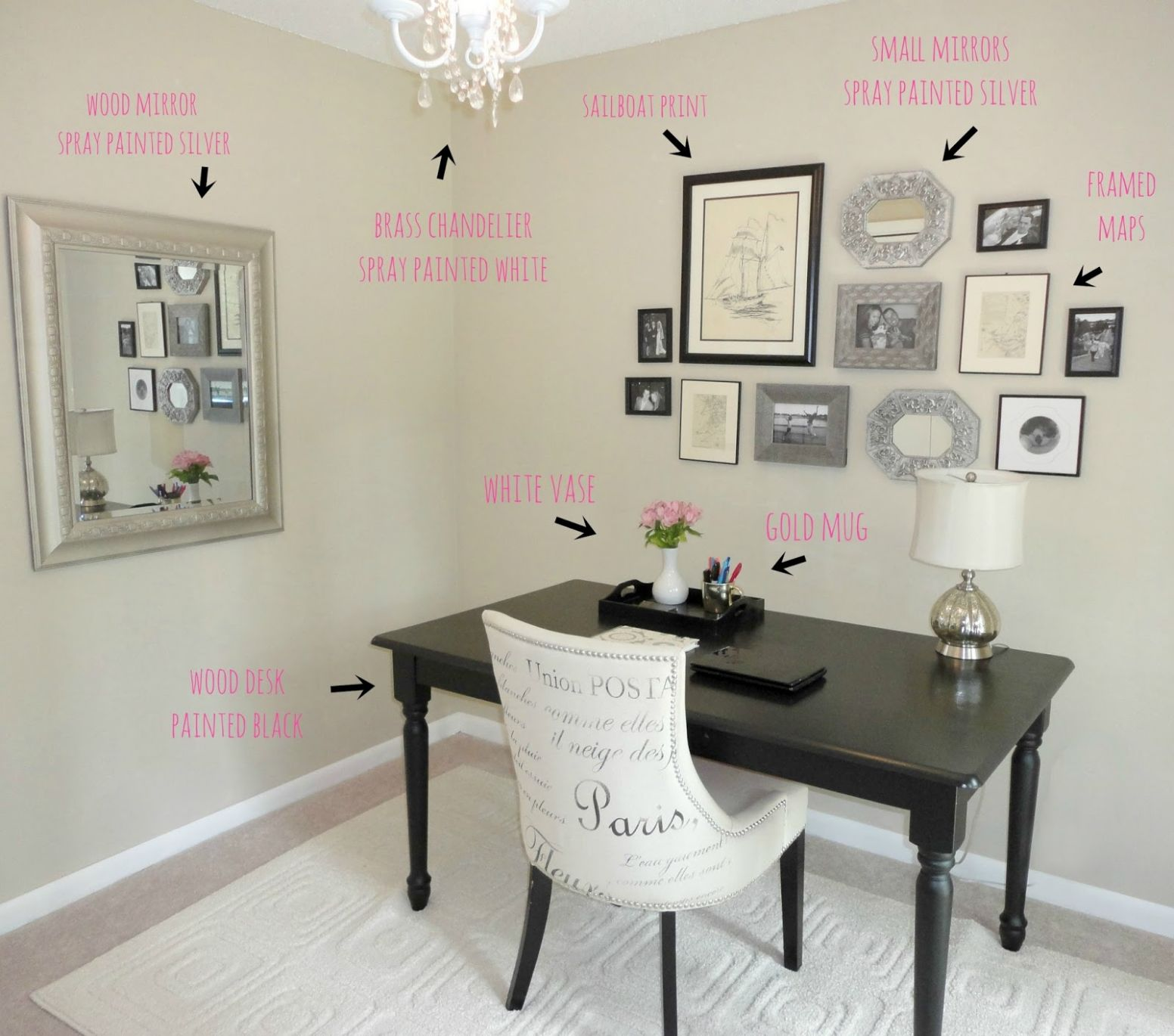Decorating A Small Office Space With No Windows Design Ideas Your ...