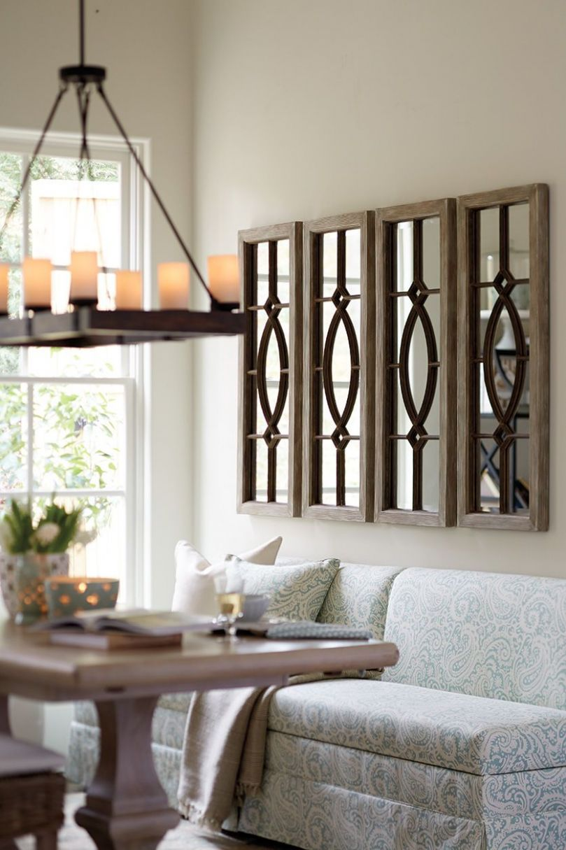 Decorating with Architectural Mirrors | Dining room wall decor ..
