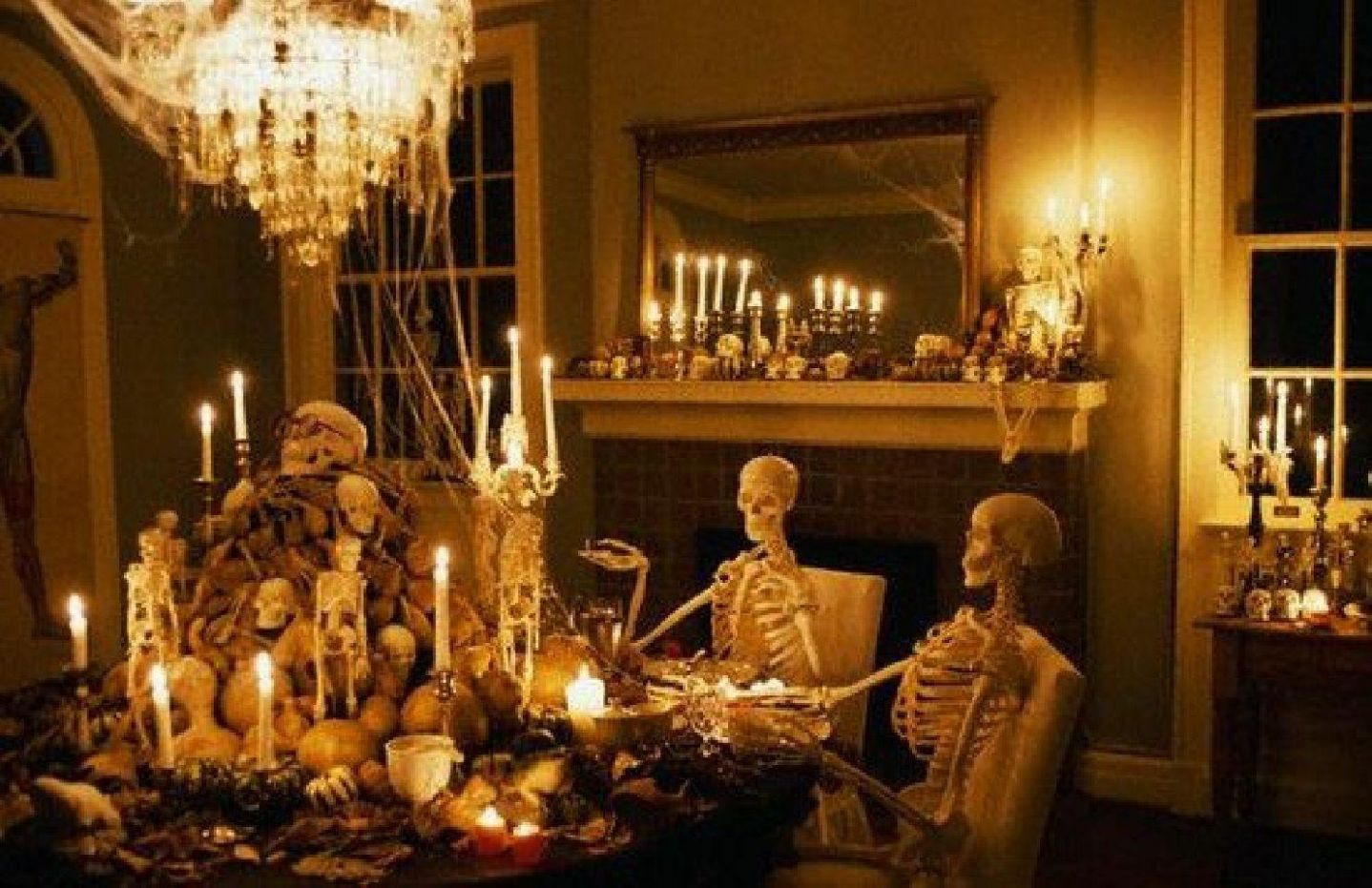 Different Types of Halloween Dining Room Decorating Ideas That Are ..