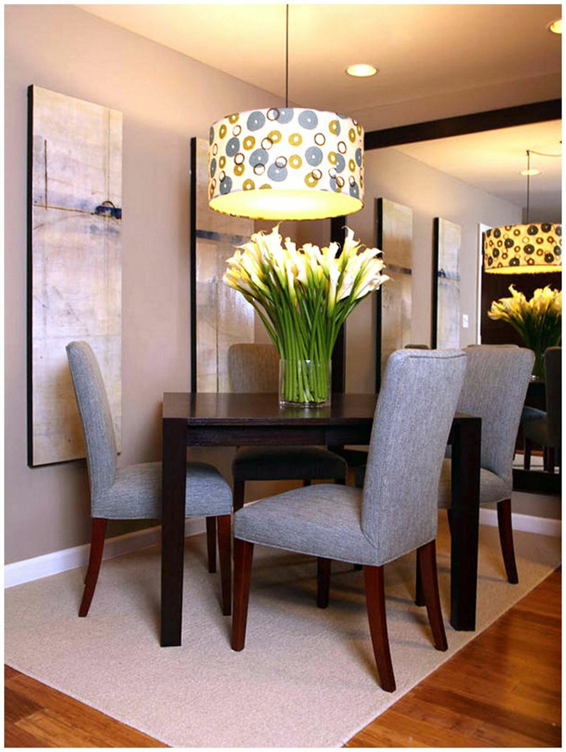 Dining Room Decorating Ideas For Apartments Interior And ...