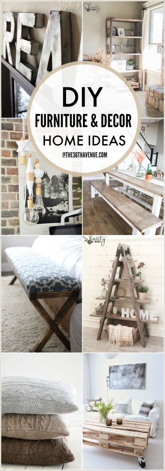 DIY Furniture and Home Decor Tutorials | The 9th AVENUE - diy home decor and furniture