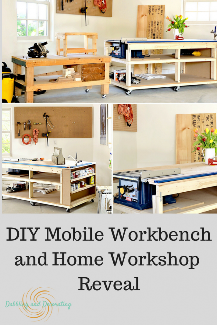 DIY Mobile Workbench and Home Workshop Reveal Dabbling and ..