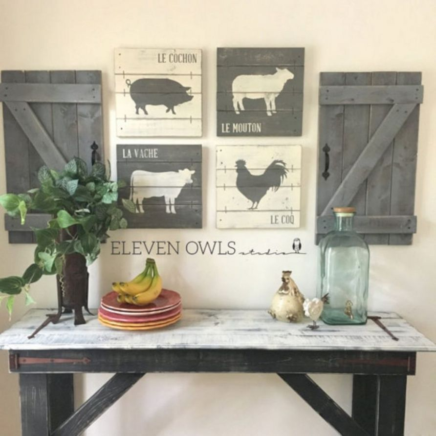 Farmhouse Kitchen Wall Decor Ideas Art Painting For Bedroom ..