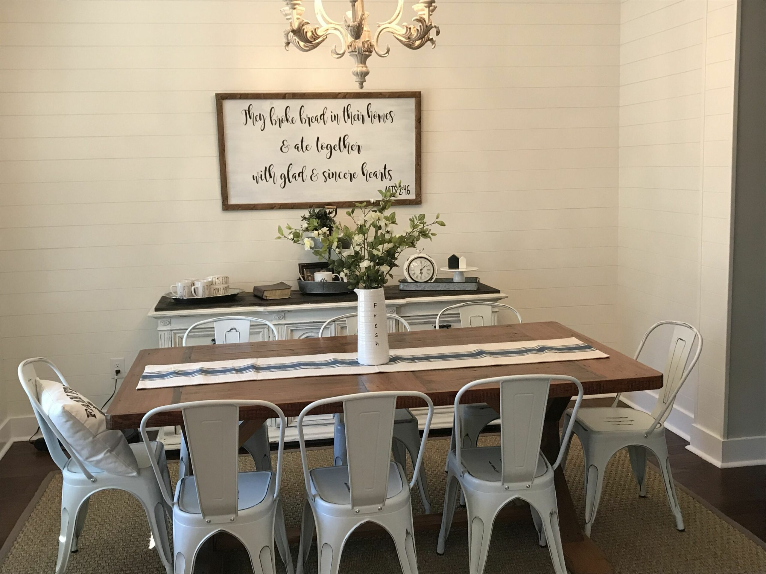 Farmhouse tour Farmhouse dining room Farmhouse decor Hobby lobby ..