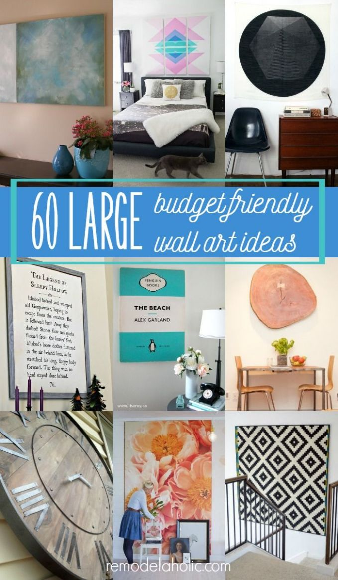 Fill up large empty walls with some gorgeous decor that doesn't ...