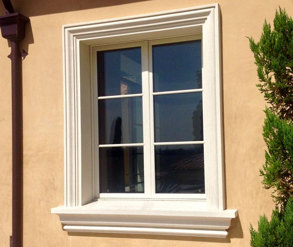 Foam molding | Windows exterior, Window trim exterior, House exterior