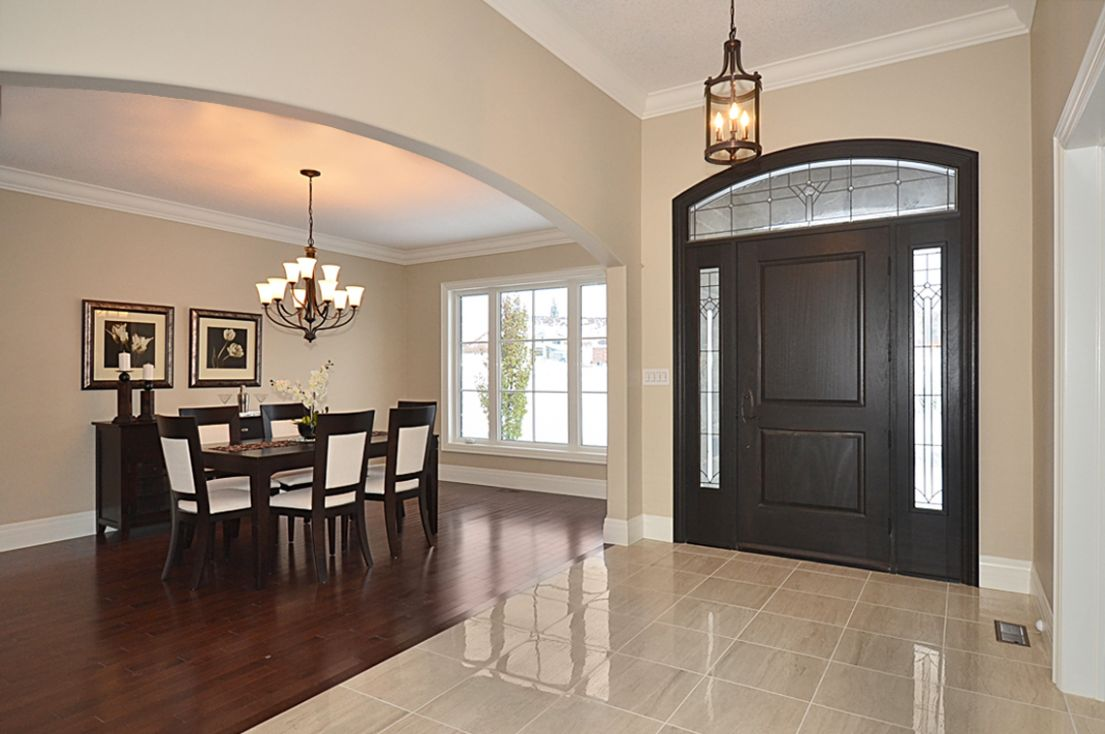 Foyer Design Inspiration: Foyer Decorating Ideas With Mirror - dining room entrance ideas